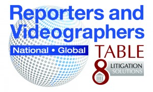 Reporters & Videographers - Table 8